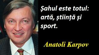 Citatul zilei: 23 mai - Anatoli Karpov