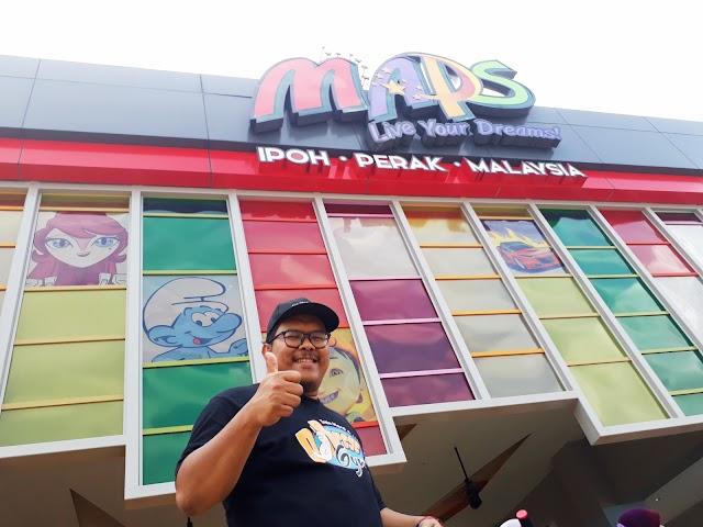 Movie Animation Park Studio (MAPS) Perak : Taman Tema Animasi Pertama di Malaysia Syurga Buat Kanak-kanak