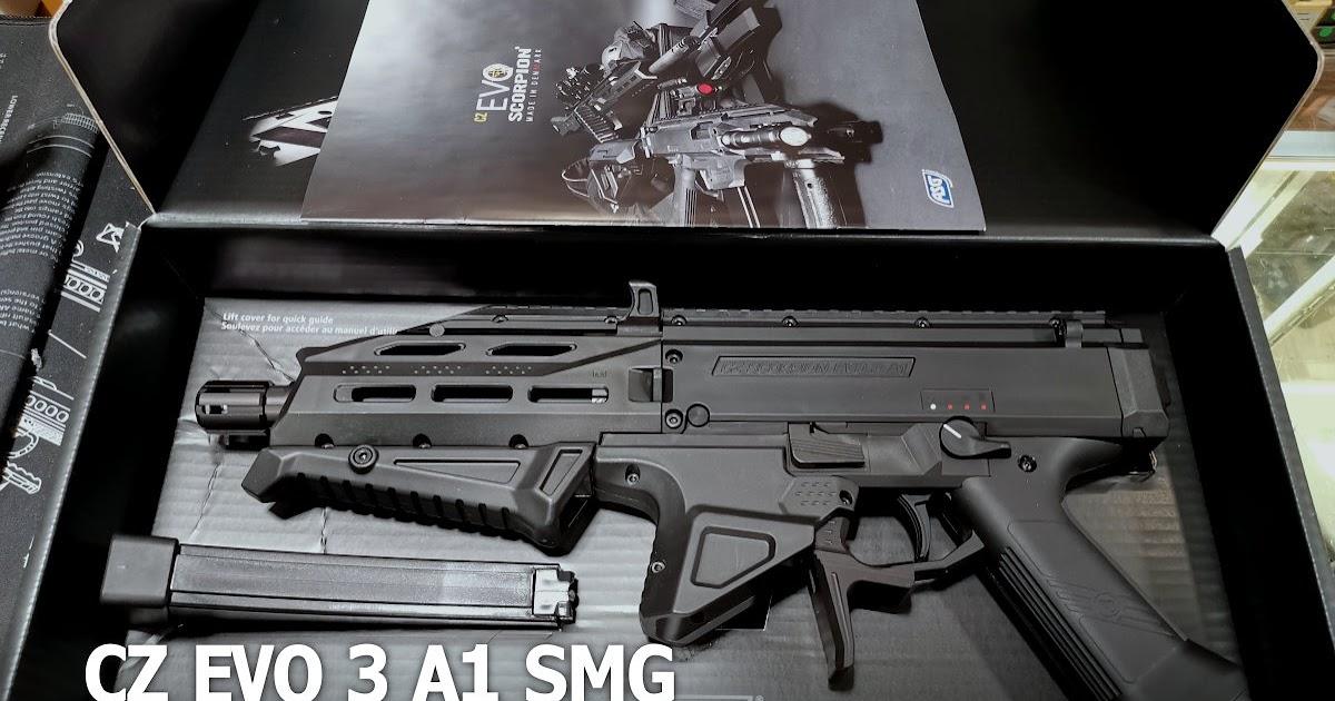 重裝武力 生存遊戲.玩具槍店: ASG CZ EVO 3 A1 SMG EVO. EVO ATEK 蠍式衝鋒槍 2020年 進化版