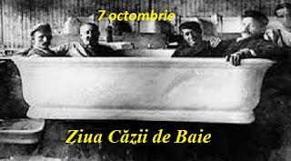 7 octombrie: Ziua Căzii de Baie