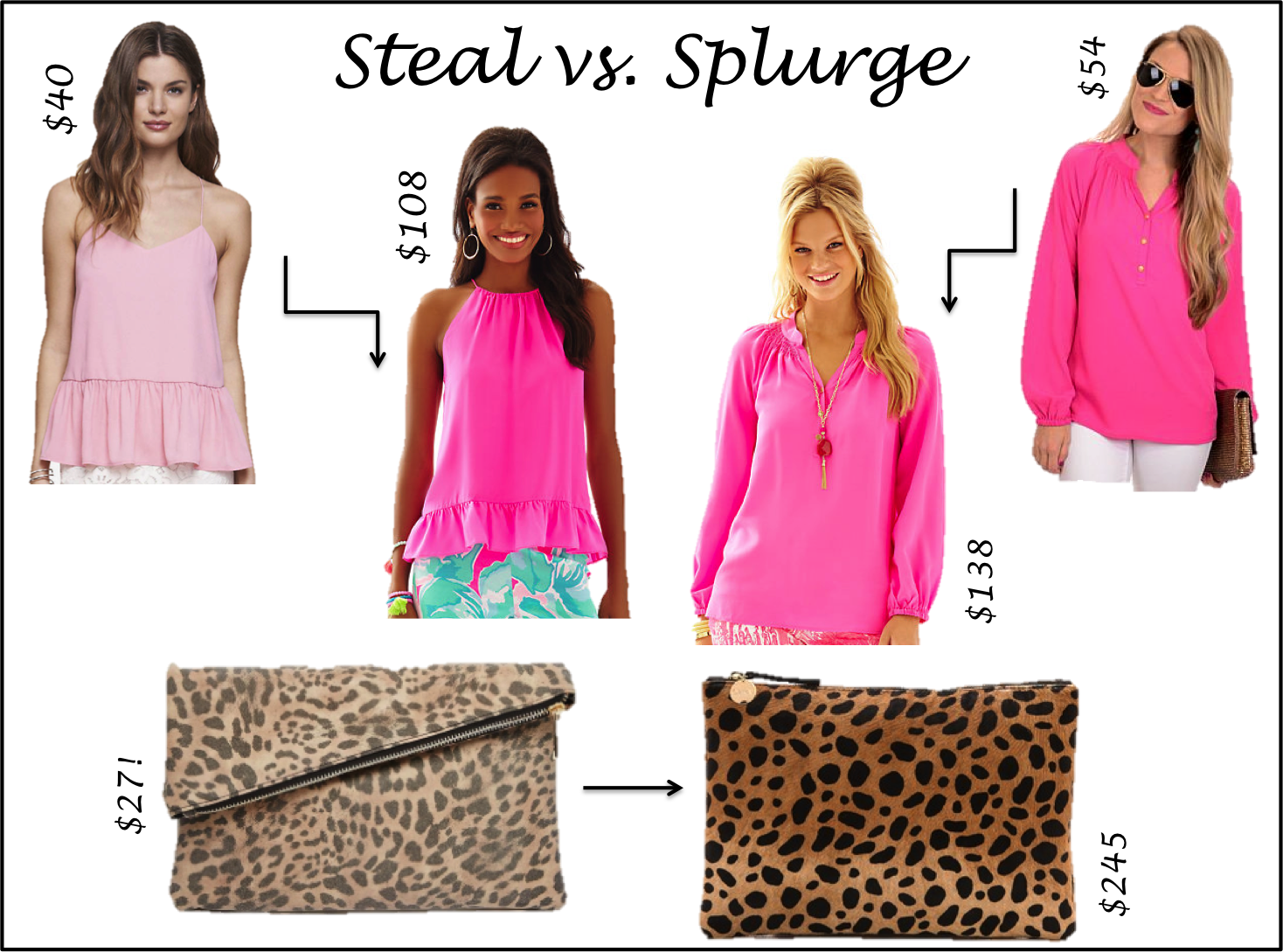 Steal vs. Splurge {v. 1}
