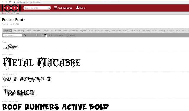 Situs Download Font Gratis Terbaik 2020