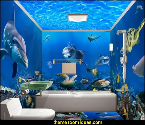 3D Bathroom Wall Murals  bathroom accessories - novelty bathroom decor - bathroom faucets - bathroom rugs - bathroom shower curtains - bathroom wall decal stickers - bathroom floor wallpaper murals - bathroom wall murals - unique bathroom gadgets - bath tubs - bath towels