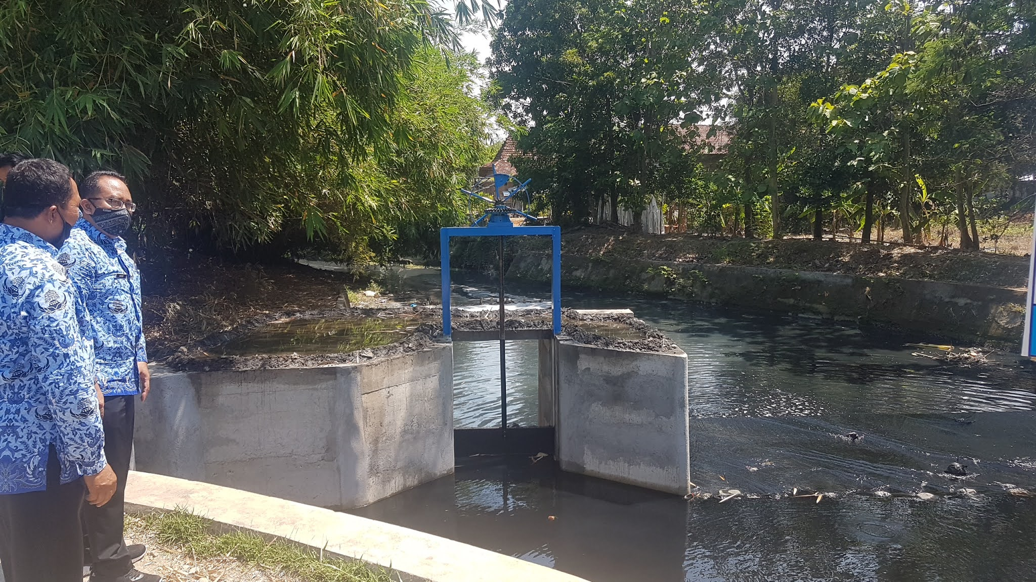 Rehabilitasi Sungai Setro Habiskan Rp 742 Juta