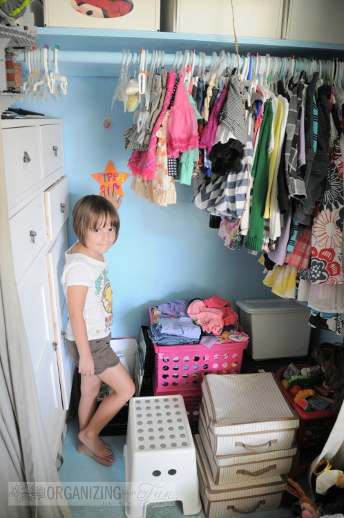 Homeschool organizing ideas organizing made fun - Room with no closet ...