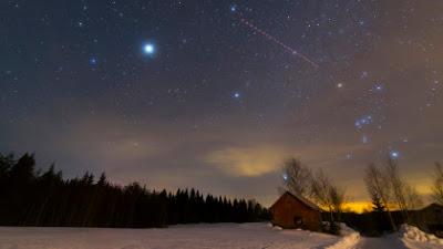 Hujan Meteor Orionid Telah Kembali