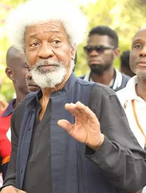 wole soyinka threatens to leave nigeria