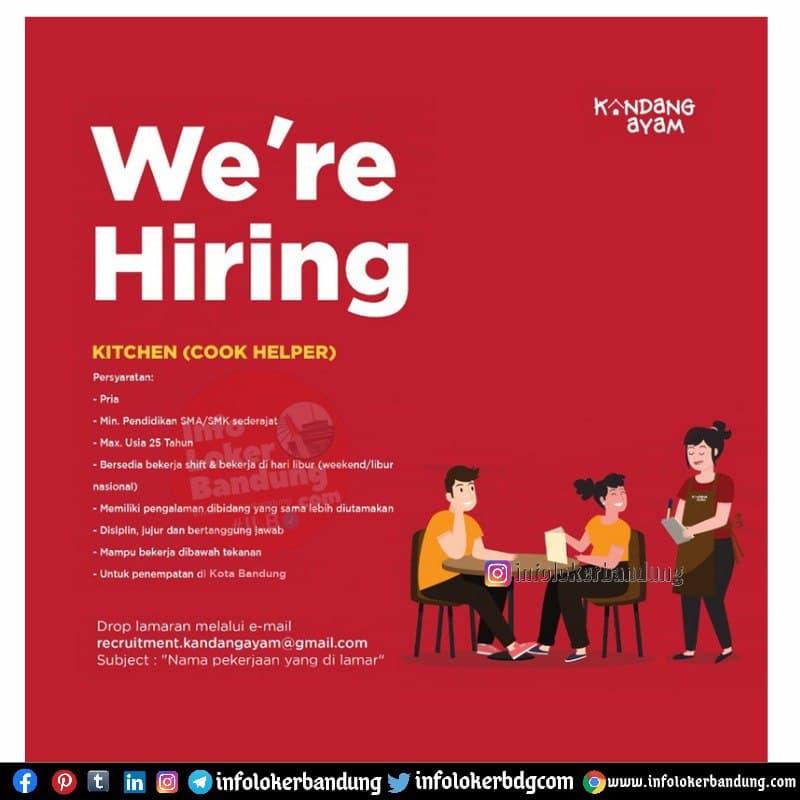 Lowongan Kerja Kandang Ayam Bandung Juni 2021