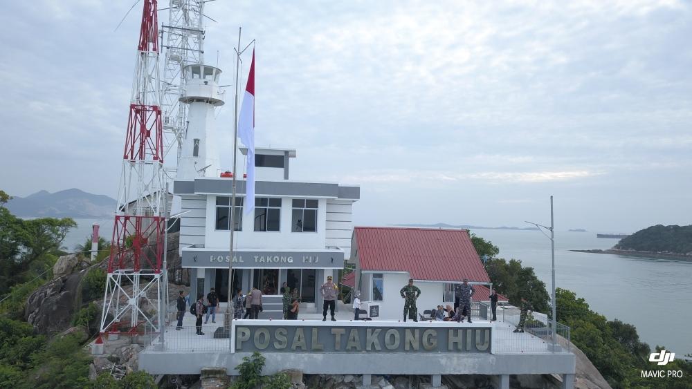 Jaga Kedaulatan NKRI, TNI dan Polri Melakukan Patroli di Perairan Perbatasan Tiga Negara