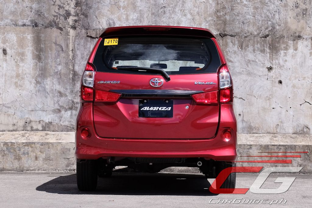 grand new avanza veloz 1.5 2018 reflektor review toyota philippine car news reviews it rides stiffly crashing its way through almost anything but the smoothest of concrete ride does tend to iron itself when fully loaded