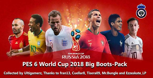 اضخم باك أحذية لكأس العالم 2018 لبيس 6