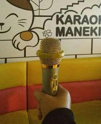 karaoke sebagai hobi