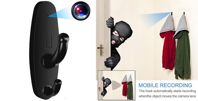 Clothes Hook Spy Cam