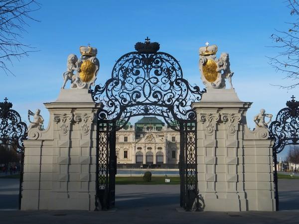 Vienne Vienna Wien schloss belvedere chateau