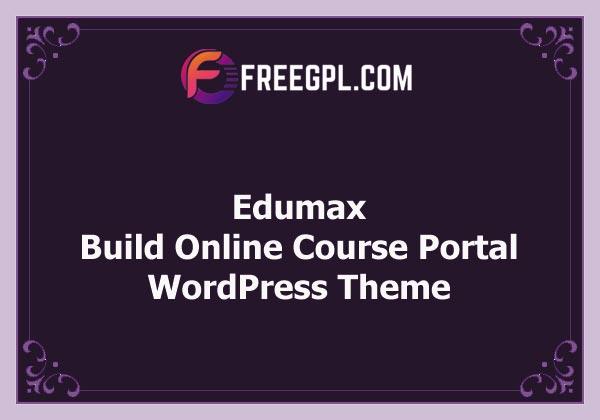 Edumax – WordPress Theme To Build Online Course Portal (Themeum) Free Download