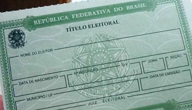 BRASIL: Prazo para eleitor regularizar título termina em maio