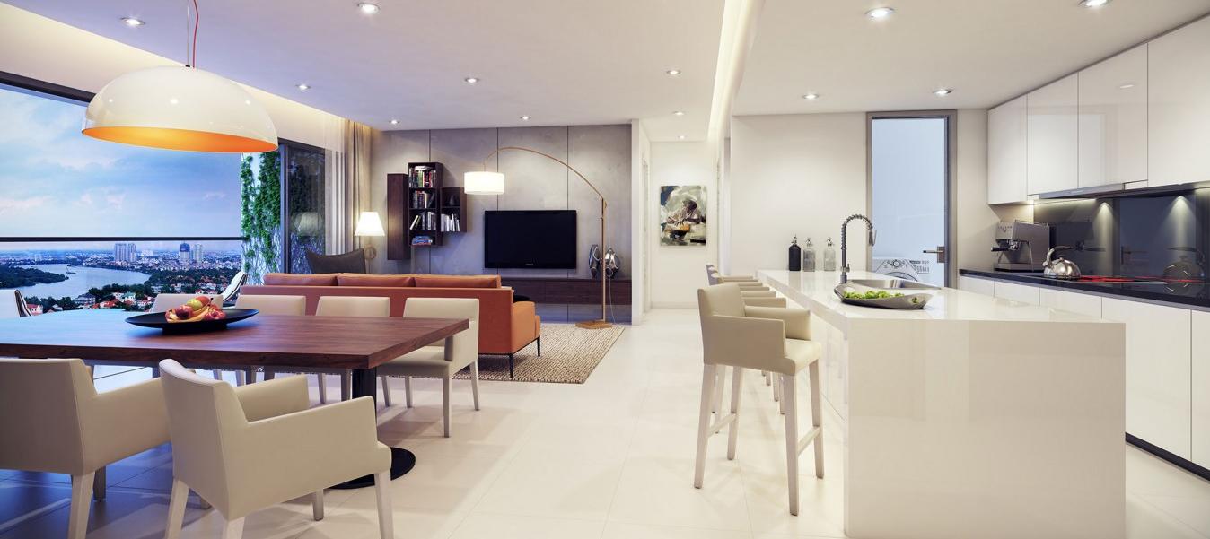 Cho thuê căn hộ The Tresor, RiverGate, Galaxy 9 và Icon 56 của Novaland
