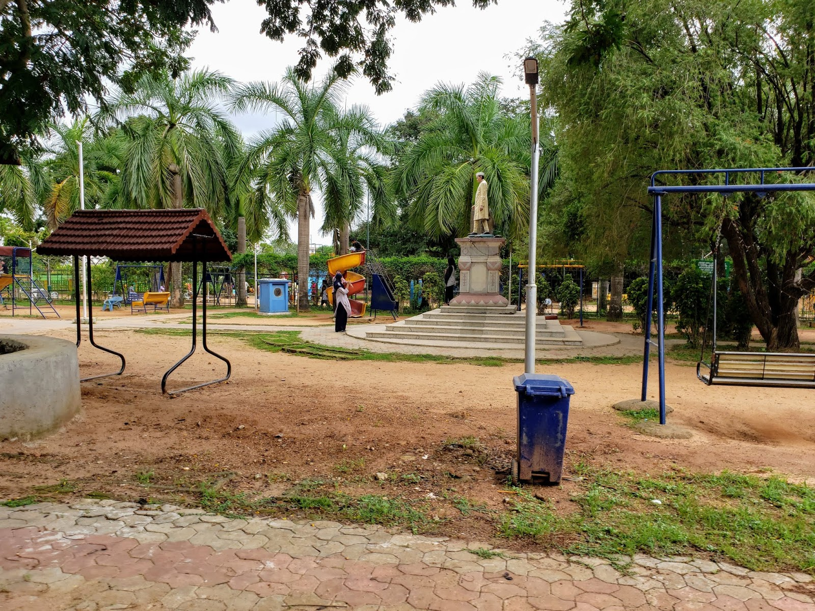 Children's park at Malampuzha Dam