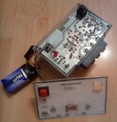 How to build a zener and LED diode tester - enclosure 1