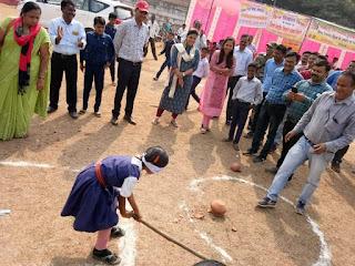 विश्व विकलांग दिवस पर दिव्यांगों की हुई खेलकूद प्रतियोगिता