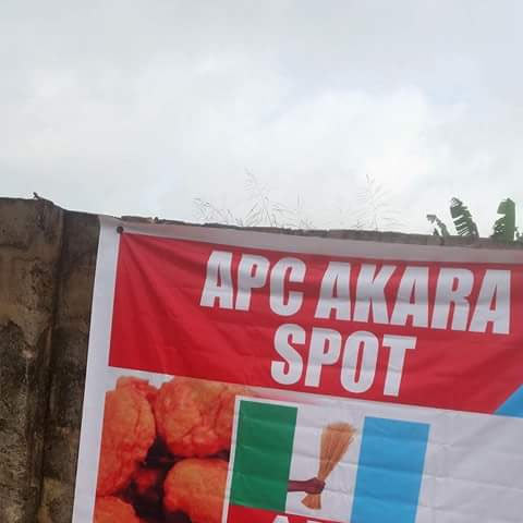 #EdoDecides: APC lures voters with free akara balls