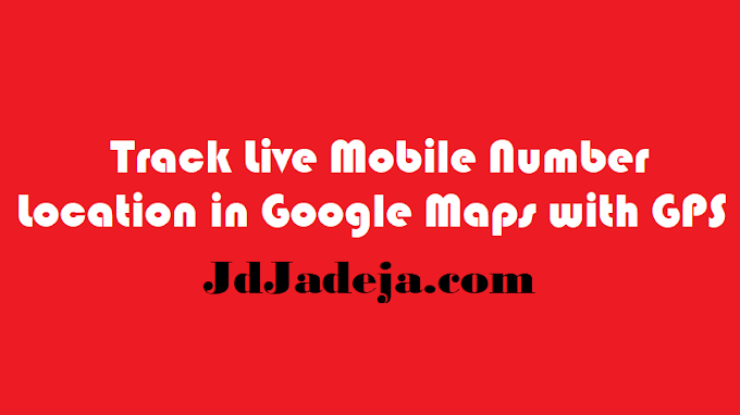 Trace Live Mobile Location with Google Maps
