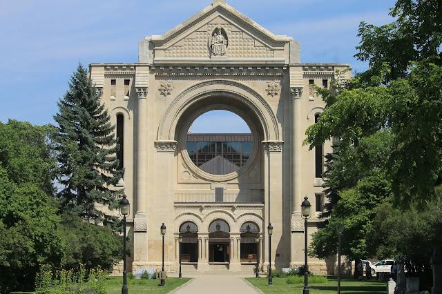 the unique St. Boniface Cathedral