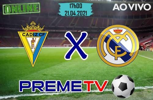Cádiz x Real Madrid Hoje Ao Vivo
