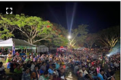 Lebih dari 10.000. ribu  orang tayangkan film finalis tahun 2020 di taman saraLana.