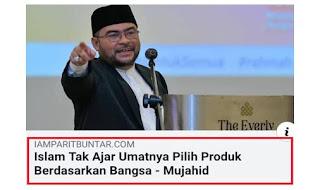 Negaraku | Apa punya Mujahid la dia ni.