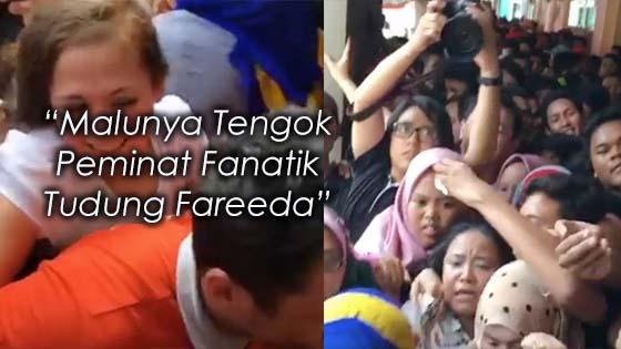 """""""Malunya Tengok Peminat Fanatik Tudung Fareeda"""""""