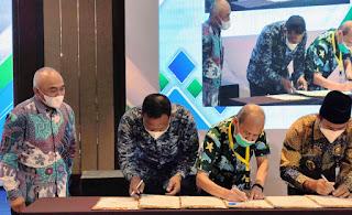 Diundang Dirjen KKP RI, Rocky Teken MoU Pembangunan Kluster Tambak Udang Nasional