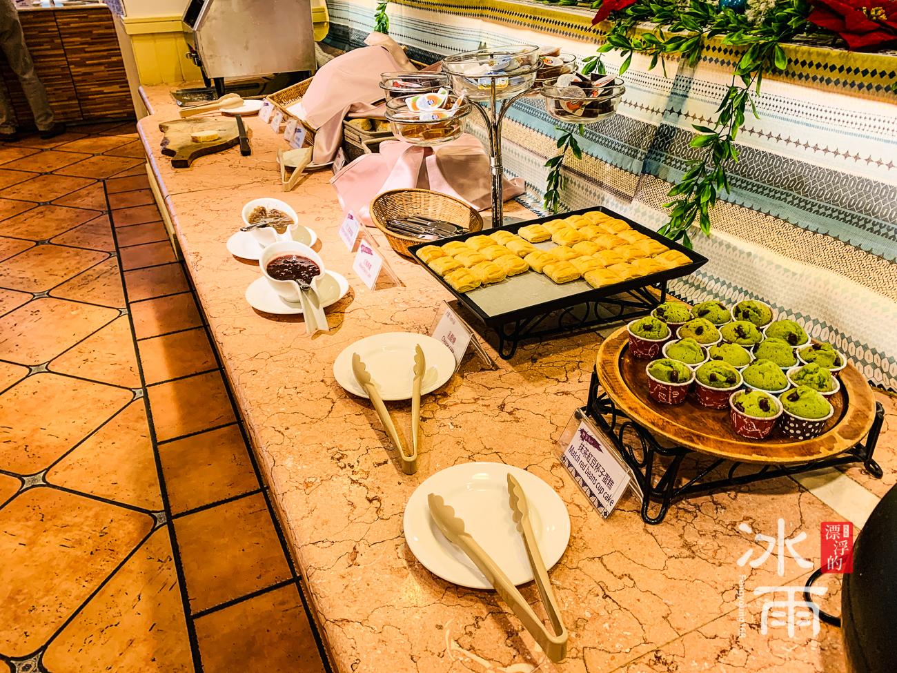 陽明山天籟溫泉會館|早餐菜色|麵包