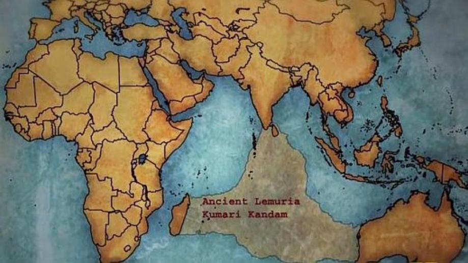 Kumari Kandam, Lost Continent of Lemuria, Lost Continent of MU