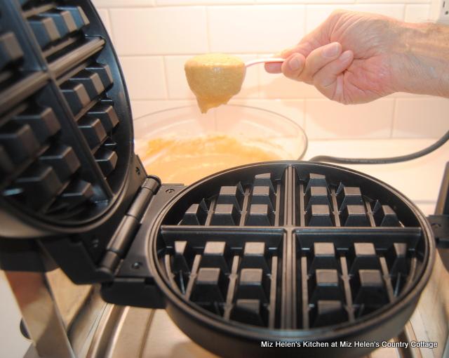 Pumpkin Waffles at Miz Helens Country Cottage