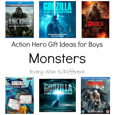 Monsters: Action Hero Gift Ideas for Boys