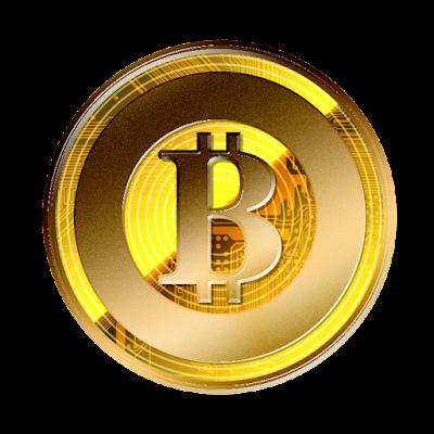 仮想通貨ビットコインゴールドのフリー素材(金貨ver)