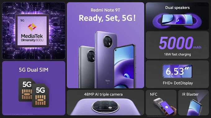 Redmi 9T and Note 9T are launched with interesting technical sheet and friendly price