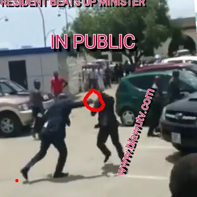 Guinnea President Fights Minister
