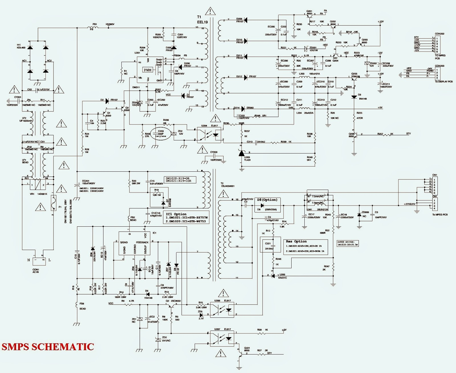 Philco Mini System Ph400n Schematic