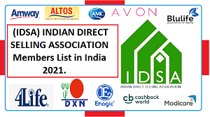 IDSA Company List In India 2021 | IDSA Member Compnay List (Indian Direct Selling Company).