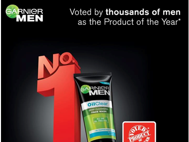 ♥ Garnier Men Oil Clear Face Wash