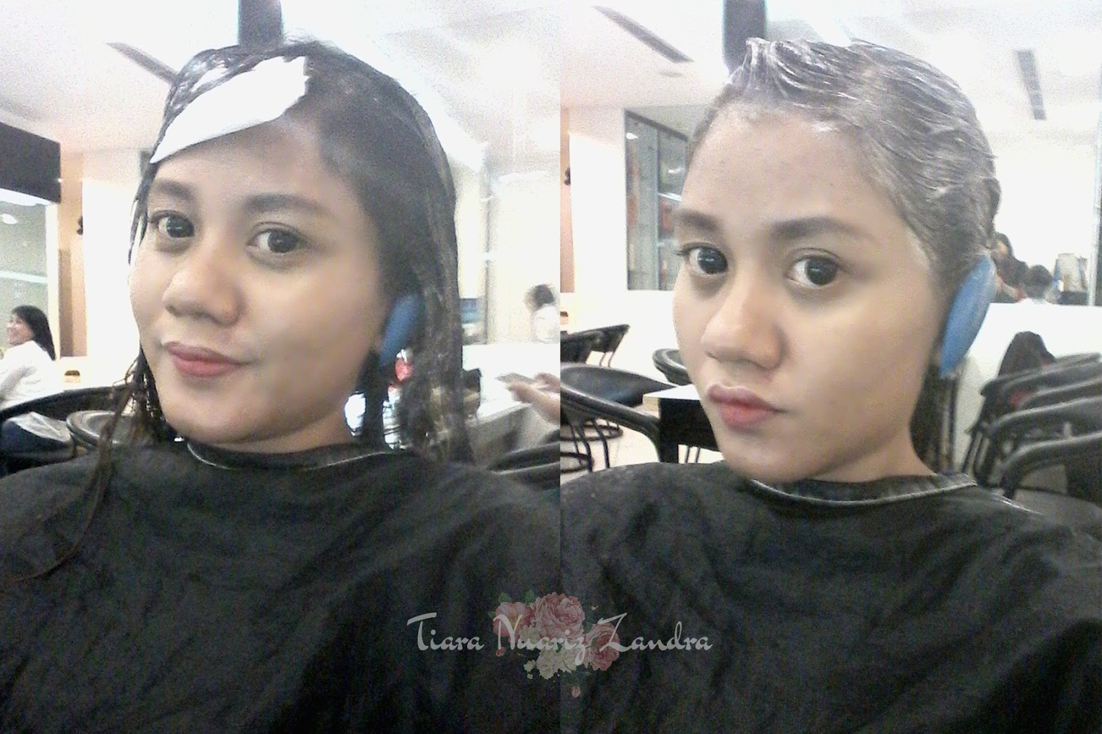 HAIR COLORING AT JOHNNY ANDREAN SCHOOL   TRAINING - BEHIND THE SCENE ... 215a6364b3