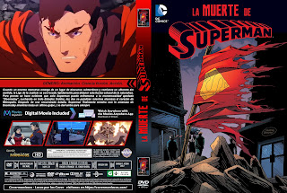 CARATULA LA MUERTE DE SUPERMAN - THE DEATH OF SUPERMAN - 2018