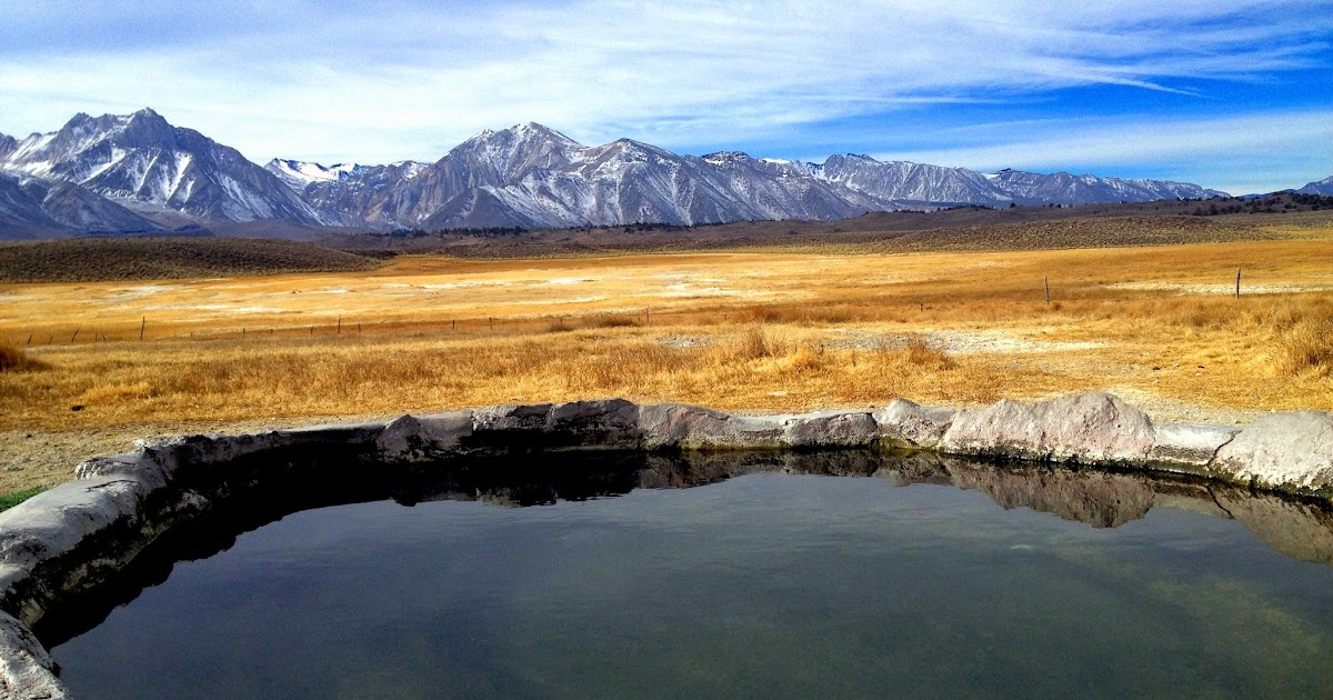 Pulkey\'s Pool Hot Springs near Mammoth Lakes California ~ Adventures ...