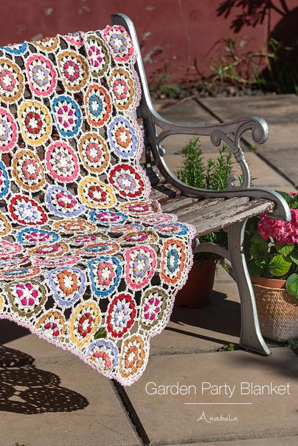 Garden Party crochet blanket
