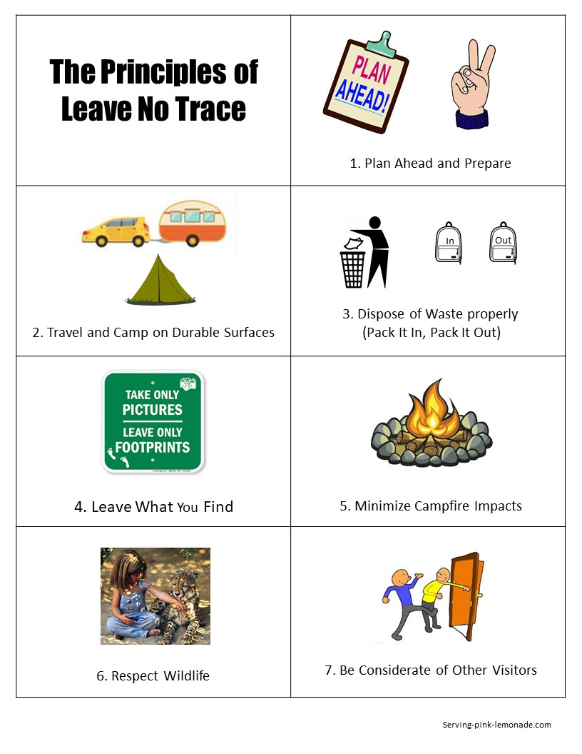 picture regarding Outdoor Code Printable named Serving Red Lemonade: Cub Scouts - Go away No Hint Basic principles