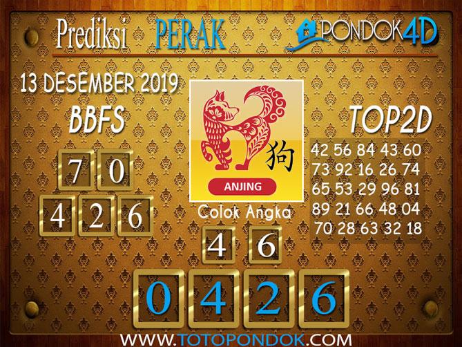 Prediksi Togel PERAK PONDOK4D 13 DESEMBER 2019
