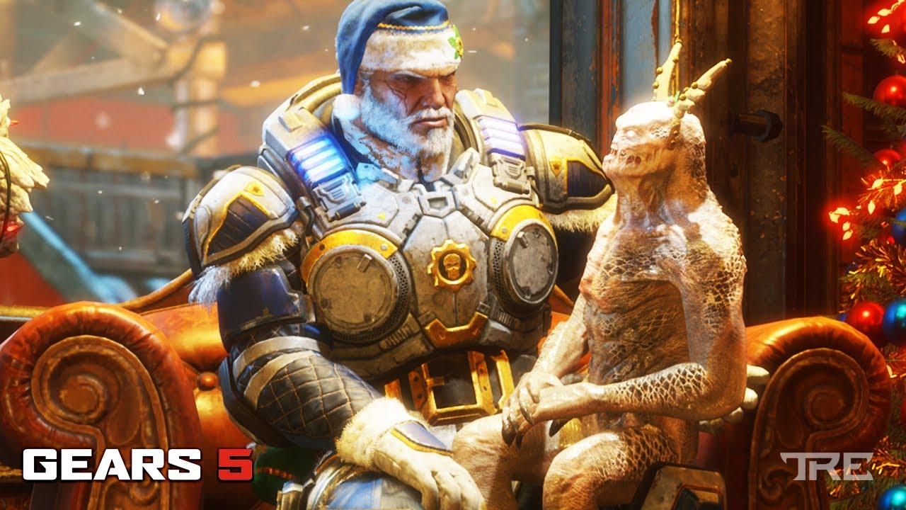 Gears of War 5 Guide: How to Unlock Marcus Gearsmas