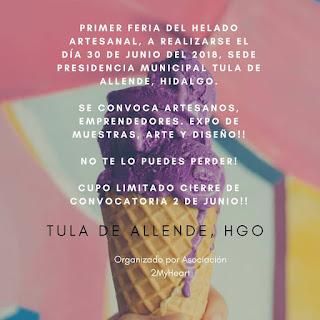 feria del helado tula 2018